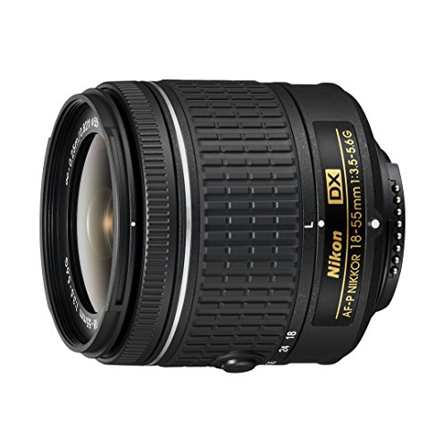 Nikon 18-55 mm f/3.5-5.6G AF-P DX Nikkor Lens for Camera