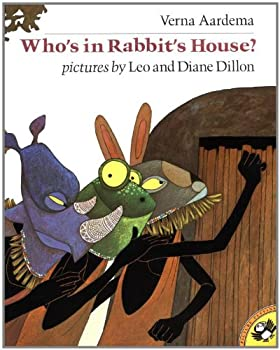 Who's in Rabbit's House?: A Masai Tale 014054724X Book Cover