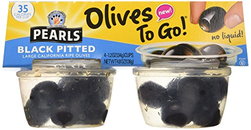 Olives To Go (Pack of 16 Cups), 19.2 oz