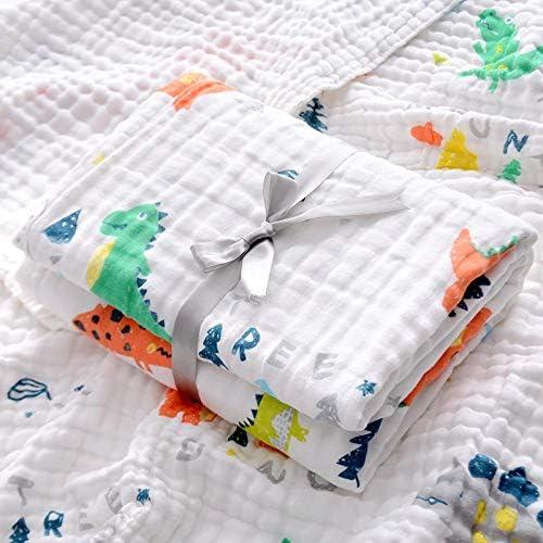 Regalos Perfectos para Baby Shower-Aguacate/_110x110 6 Capas Muselina Manta Beb/é Suavidad de Algod/óN de Bamb/ú Disponible en Cuatro Estaciones Ideal Como Manta de Cochecito Swaddle