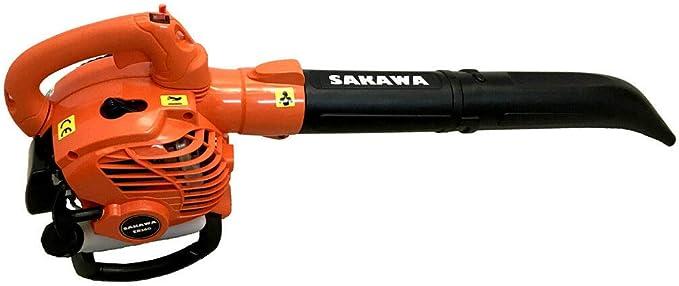 SAKAWA Soplador Aspirador de Hojas Motor Gasolina 26 CC: Amazon.es ...