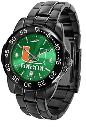 Collegiate Fantom Sport Anochrome Premium Mens Watch with gunmetal band (Miami Sport Watch)