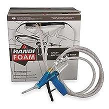 Handi-Foam P10695 75 Spray Polyurethane Foam Insulation Roof Patch (2.5) Kit
