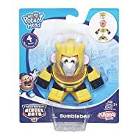 Playskool Mr. Potato Head Transformers Mixable Mashable Heroes as Bumblebee Robot