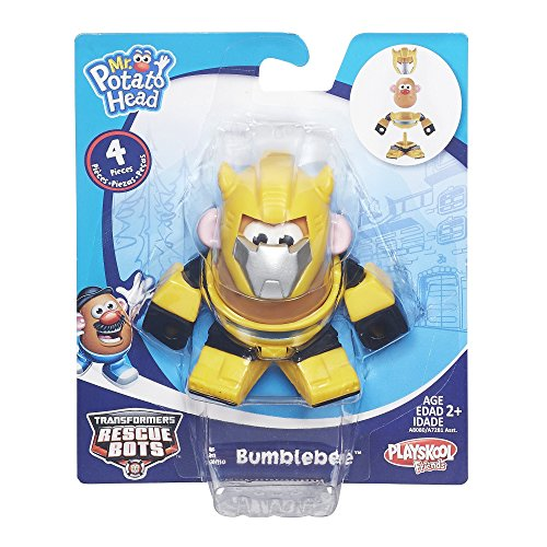 Bumble Robot Heroes Bee - Playskool Mr. Potato Head Transformers Mixable, Mashable Heroes as Bumblebee Robot