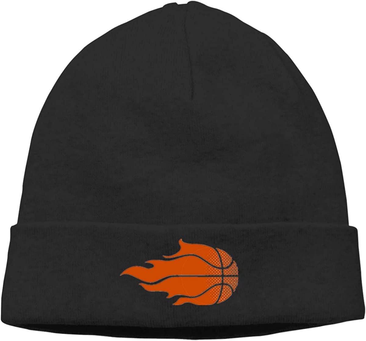 Nskngr Flame Basketball Cap Mens/&Womens Serious Style Beanie Hats Knit Cap Skully