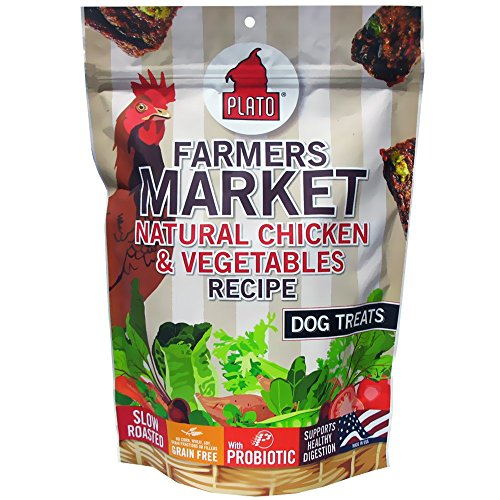 Plato Farmers Market Chicken and Vegetable, 14-Ounce
