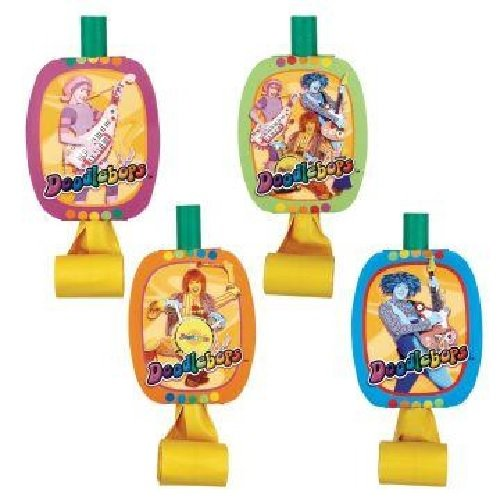 The doodlebops 8 Pack Party Blowouts