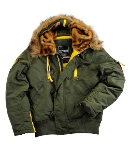 check out c3a26 05883 Alpha Industries Jacke PPS N2B, Color:dark green;Größe:S ...