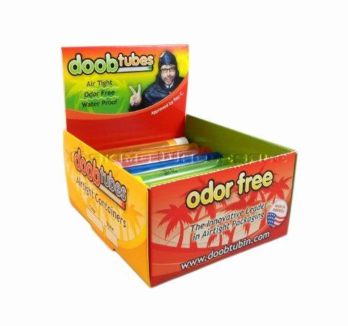 Doob Tubes - Small Airtight Packaging Tubes - 1 Box/25 Tubes by Doobtube