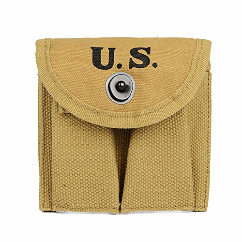Oleader WW2 U.S. M1 Carbine Bullet Magazine Pouch WWII for sale  Delivered anywhere in USA