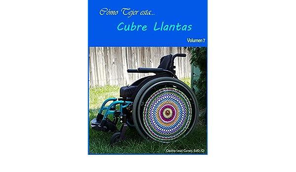 Cubre Llantas Decorativa Tejida con Mandalas y Formas Fractales : Cubierta Decorativa para Llantas de Silla de Ruedas (Volumen Book 7) - Kindle edition by ...