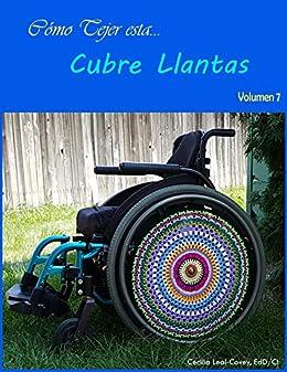 Cubre Llantas Decorativa Tejida con Mandalas y Formas Fractales : Cubierta Decorativa para Llantas de Silla