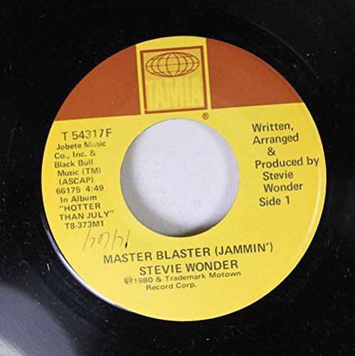 Stevie Wonder 45 RPM Master Blaster (Jammin') / Master Blaster ()