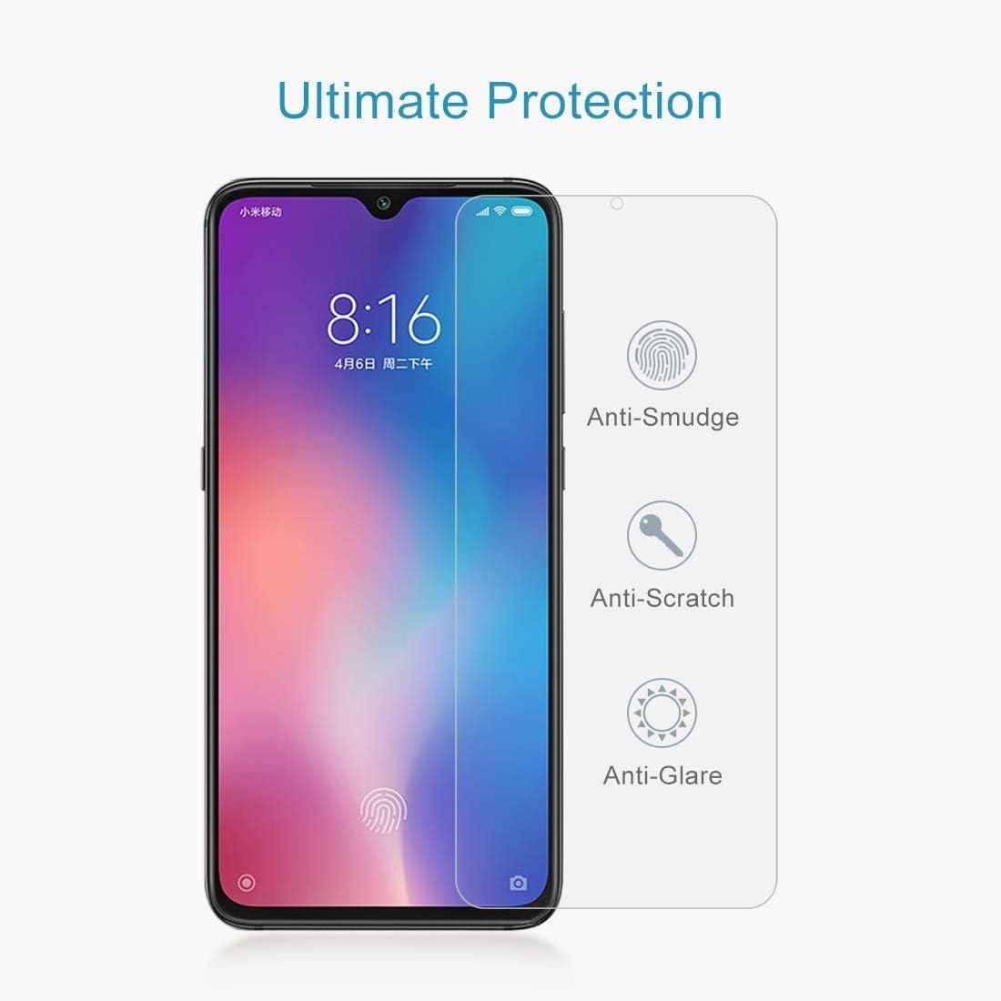 GUOSHU Premium Tempered Glass Screen Film 100 PCS 0.26mm 9H 2.5D Tempered Glass Film for Xiaomi Mi 9 SE Anti-Scratch Screen Protector