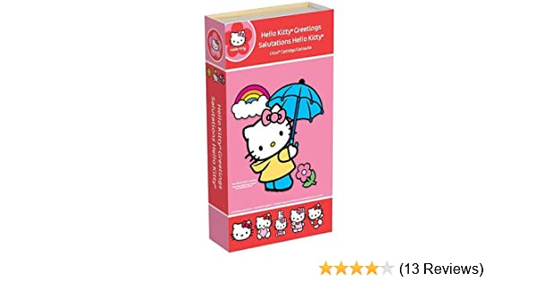 Amazon cricut hello kitty greetings m4hsunfo