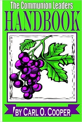 Book The Communion Leader's Handbook
