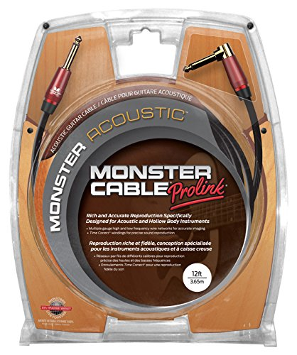 Monster M ACST2-12A - 12' Acoustic Instrument (12' Acoustic Instrument Cable)