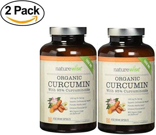 NatureWise Curcumin Curcuminoids Cardiovascular Absorption