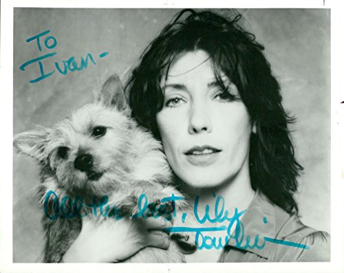 Tomlin Signed Photo - Lily Tomlin (Vintage, Inscribed) signed photo