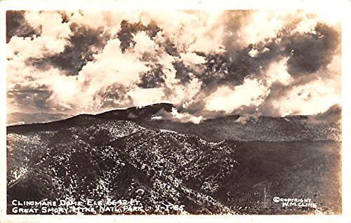 Clingmans Dome Great Smoky Mountains National Park, Tennessee postcard