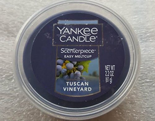 Yankee Candle Tuscan Vineyard Scenterpiece Easy MeltCup 2.2oz melt cup (Tuscan Outdoor Lamp)