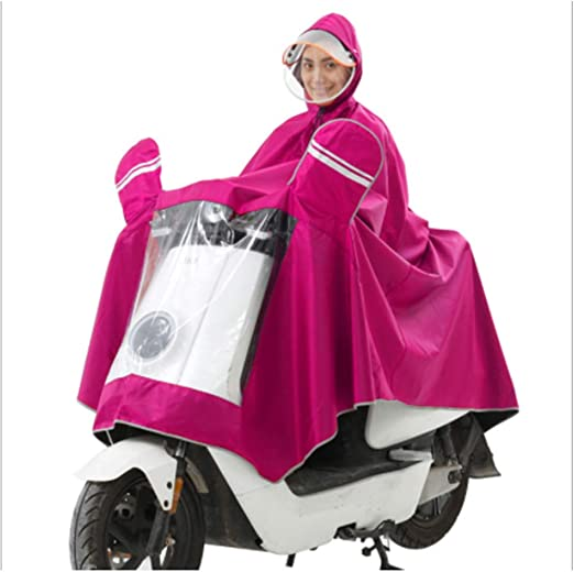LIBWX Impermeable para Motocicleta, Bicicleta eléctrica ...