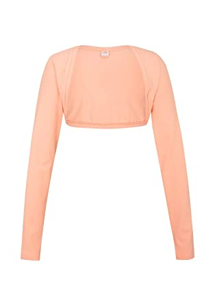 ade5a03aad6d76 s.Oliver s.Oliver Mädchen Bolero Jacke Apricot, Gr. 176/ XL, (2018 ...