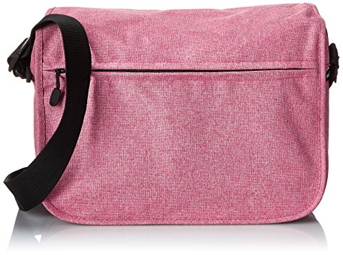 Everest Casual Laptop Messenger Briefcase, Coral, One Size