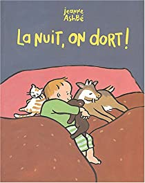 La nuit, on dort ! par Ashbé