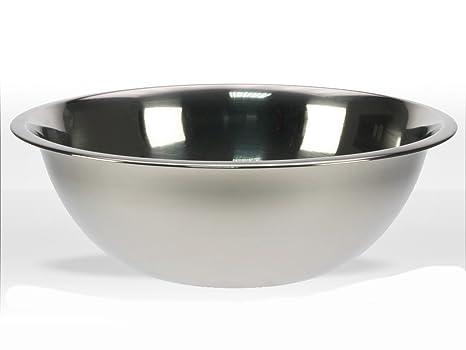 REVIMPORT 02/1259 x6-Ensaladera acero inoxidable, bajos de 32, 5 cm, por tubo flexible para *