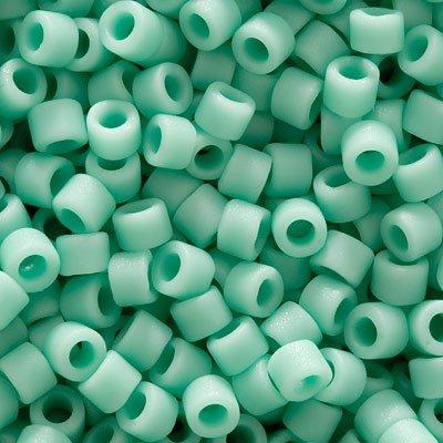 Miyuki Delica Seed Beads 11/0 - Matte Opaque Sea Opal - DB1586 (8 Grams) Delica Matte