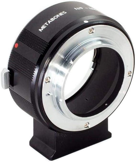 Amazon Com Metabones Nikon F Lens To Micro Four Thirds Camera T Adapter Ii Black Matte Camera Photo