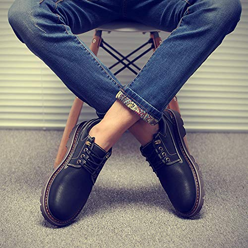 LOVDRAM Stiefel Männer Herren Schuhe Herren Herbst Breathable Martin Stiefel Herren Schuhe Low Schuhe Casual Stiefel Wild Schuhe Schuhe Tooling Schuhe 726649