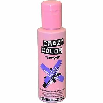 crazy color coloration fugace lilac 100 ml - Coloration Fugace