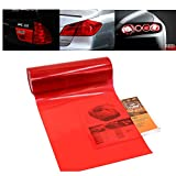 Car Light Tint Film Headlight Fog Light Taillight Red Tinted Vinyl Tail Back Color Sticker Self Adhesive Shiny Chameleon Accessories Parts 48''x12'' 1pc【1797】