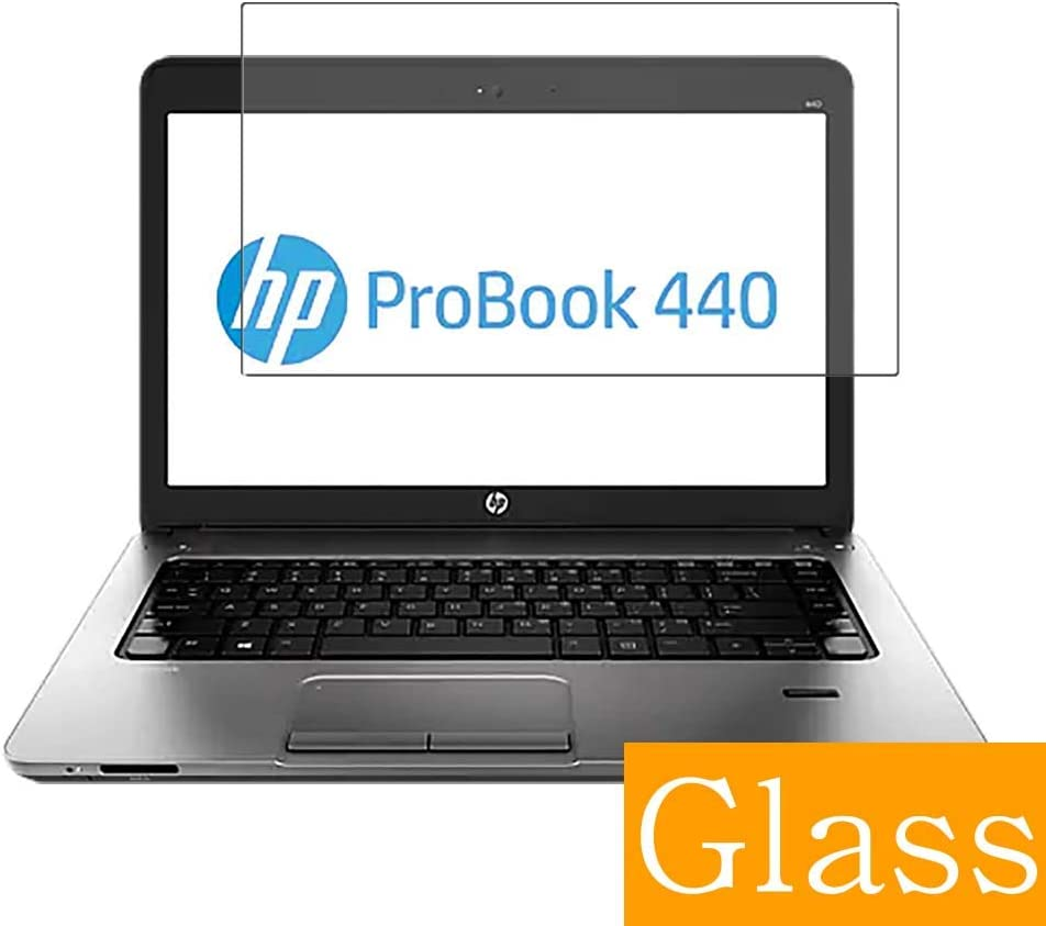 "Synvy Tempered Glass Screen Protector for HP ProBook 440 G0 14"" Visible Area Protective Screen Film Protectors 9H Anti-Scratch Bubble Free"