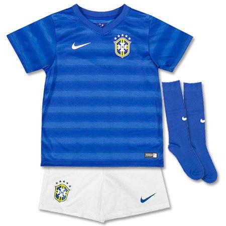2014-15 Brazil Away World Cup Mini Kit