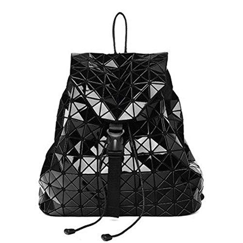 Mädchen Rucksack Laser Kunstlederrucksack Schultasche Handtasche für Reisen Photography usw.