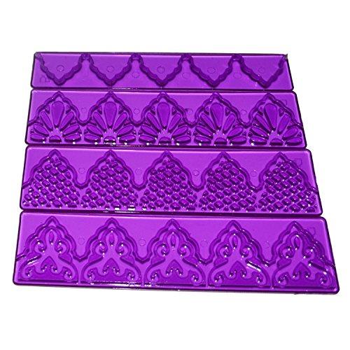 yijia-4pcs-set-purple-cake-fondant-edge-frill-ribbon-embosser-sugar-craft-modelling-cutter-mold