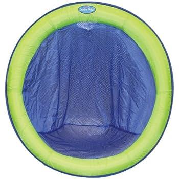 Amazon Com Swimways Spring Float Papasan Blue Lime
