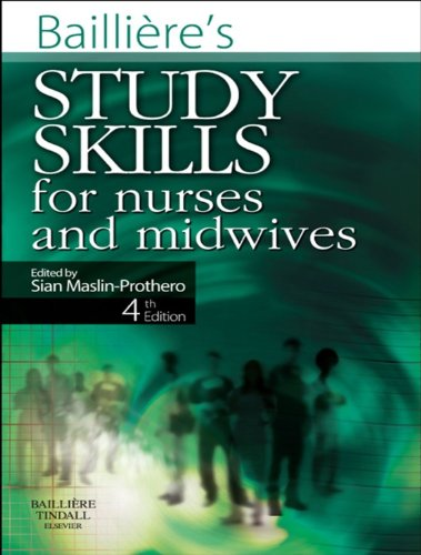 Bailliere's Study Skills for Nurses and Midwives Pdf