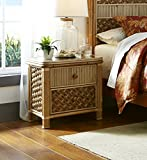 Spice Islands Mandalay 2 Drawer Nightstand, Natural