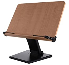 [アイレベル] Eye level 読書台 高低調整可能 ブックスタンド タブレット台 レシピ台 多用途使用 大人から子供まで利用可能 壁掛け (N40-B) Eye level 読書台 高低調整可能 ブックスタンド