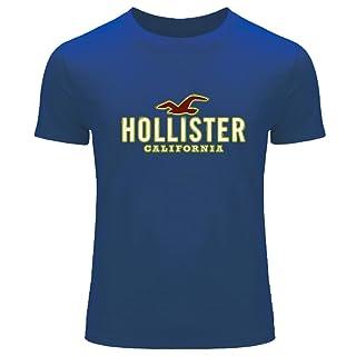 Hollister Logo Diy Printing For Men's T-shirt Tee Outlet
