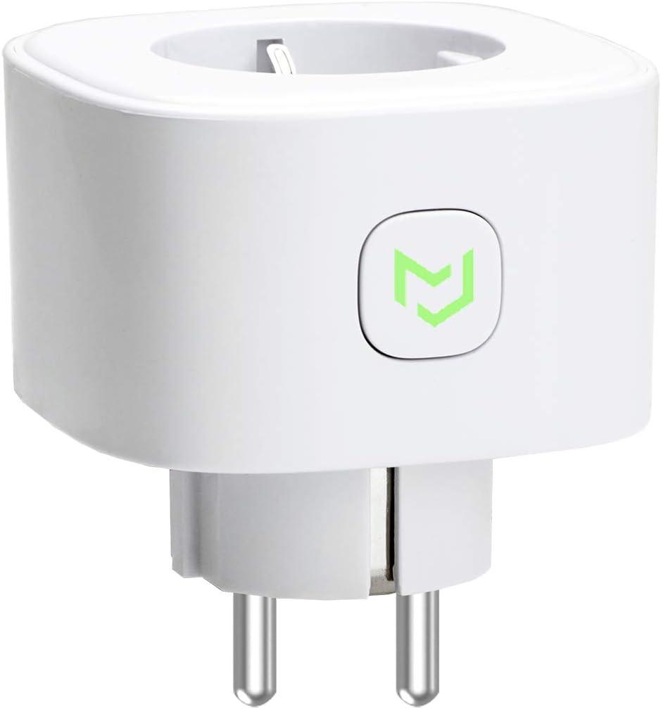 Enchufe Inteligente 16A 3680W, con Control Remoto Meross app, Compatible con Alexa, Google Assistant y SmartThings, Wi-Fi Smart Plug, Modelo MSS210