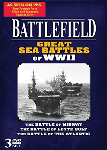 Battlefield Dvd - BATTLEFIELD - Great Sea Battles of WWII