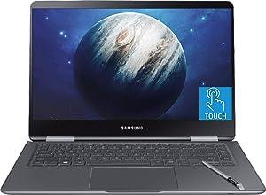 "Premium Flagship 2019 Samsung Notebook 9 Pro 15.6"" FHD Convertible 2-in-1 Touchscreen Laptop- Intel Quad-Core i7-8550U 16GB RAM 256GB SSD Backlit KB USB-C 2GB AMD Radeon 540 WiFi Win 10 w/ S Pen"