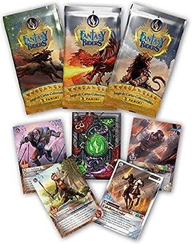 Panini 1 Caja con 50 Sobres Fantasy Riders: Amazon.es ...