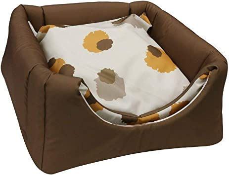 Amazon.com: fy-living Cozy Pet cama Cueva rodar para gatos y ...